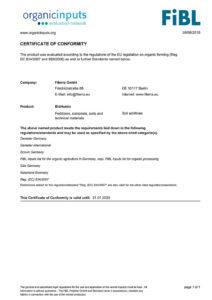 Certificate-FIBL