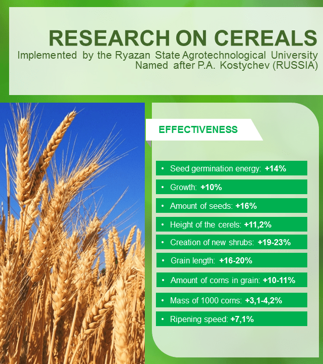 RESEARCH ON CEREALS